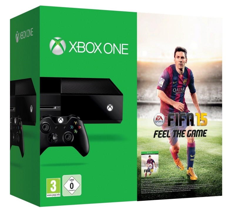 Microsoft Xbox One Konsole - 500 GB inkl. Fifa 15
