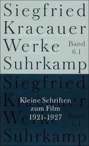 Kleine Schriften zum Film, 3 Tle.