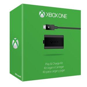 Microsoft Play & Charge Kit für Xbox One