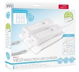 VIELD Induction USB Charger, weiss, für Nintendo Wii