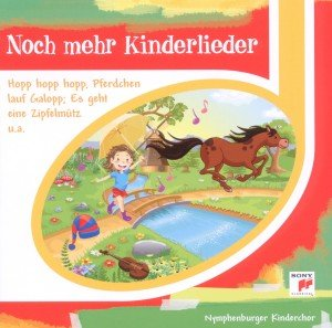 Noch mehr Kinderlieder, Audio-CD
