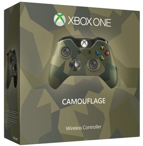 Xbox One Wireless Controller - Armed Forces Camouflage - Special Edition