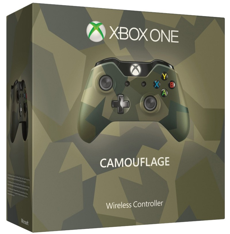 Xbox One Wireless Controller (Armed Forces Camouflage)