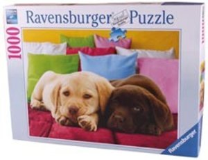 Ravensburger 19115 - Auf Schmusekurs, 1000 Teile Puzzle