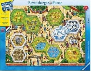 Ravensburger 06516 - Zahlen-Zoo, 10 Teile Puzzle