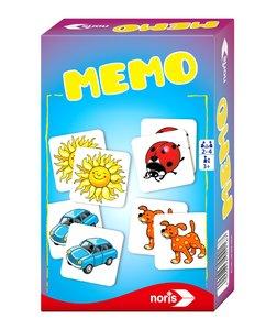 Noris 606094216 - Memo, Reisespiel
