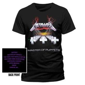 Master Of Puppets (T-Shirt,Schwarz,Größe S)