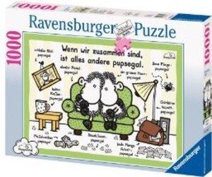 Ravensburger 15789 - sheepworld: Pupsegal, 1000 Teile Puzzle