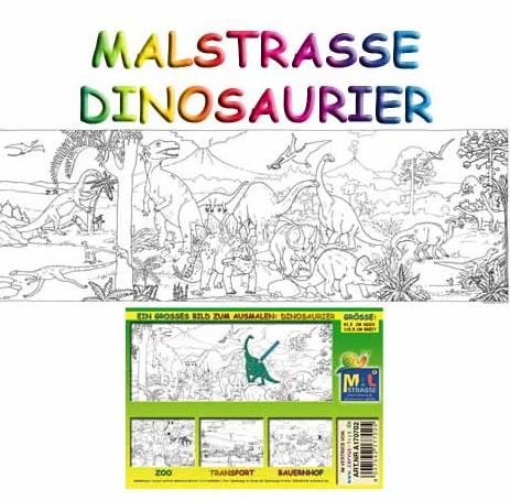 Corvus A170702 - Malstrasse: Dinosaurier