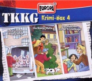 TKKG Krimi Box. Tl.4, 3 Audio-CDs