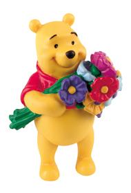 BULLYLAND 12342 - Winnie Pooh mit Blumenstrauss