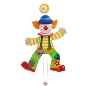 Sevi 81729 - Hampelmann, Clown mit Hosenträger