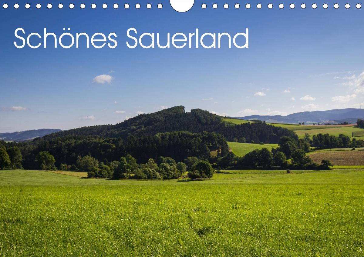 Schönes Sauerland (Wandkalender 2021 DIN A4 quer)