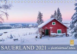 Sauerland - faszinierend schön (Tischkalender 2021 DIN A5 quer)