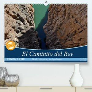 El Caminito del Rey (Premium, hochwertiger DIN A2 Wandkalender 2022, Kunstdruck in Hochglanz)