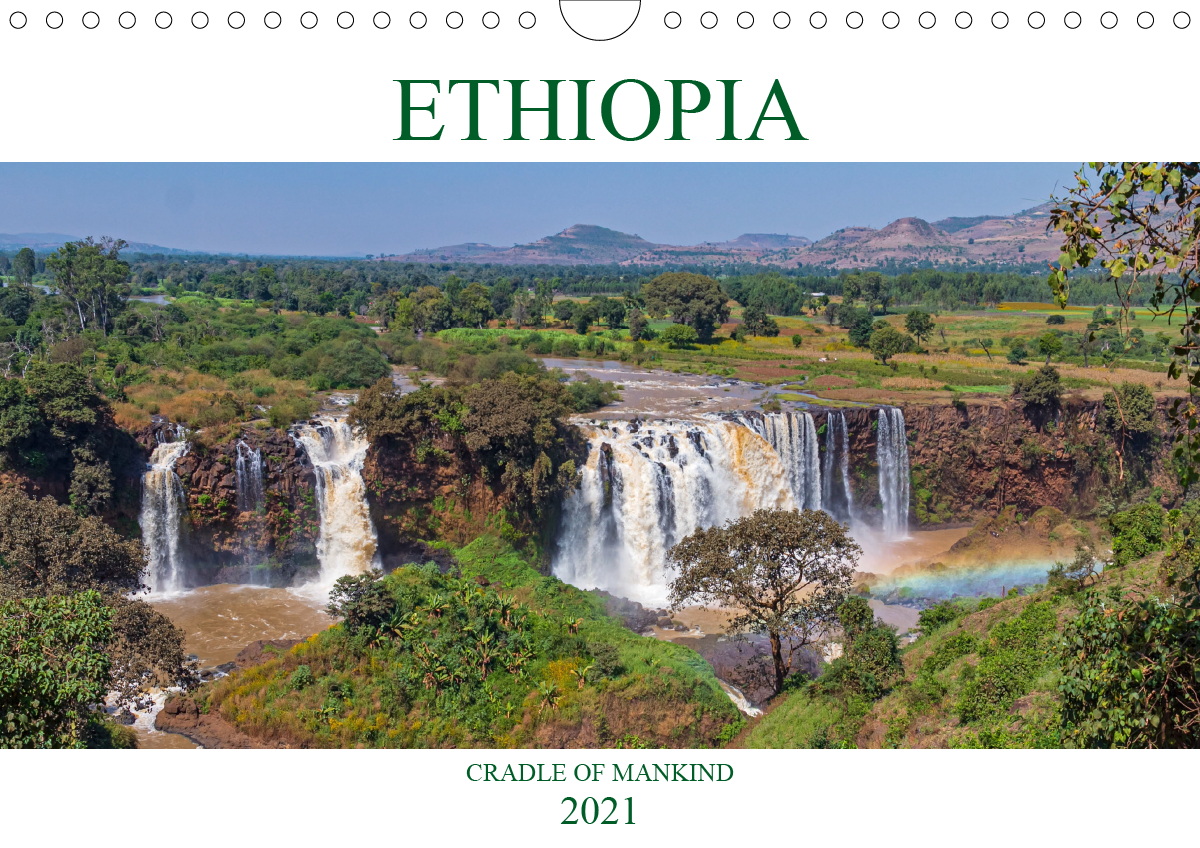 Ethiopia cradle of mankind (Wall Calendar 2021 DIN A4 Landscape)