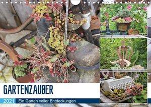 Gartenzauber (Wandkalender 2021 DIN A4 quer)