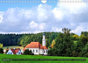 Wiesen Wälder Weiher. Der Naturpark Augsburg-Westliche Wälder (Wandkalender 2022 DIN A4 quer)