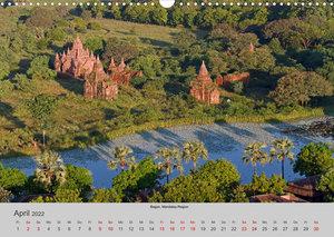 Myanmar 2022 (Wandkalender 2022 DIN A3 quer)