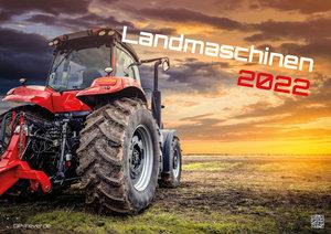 Landmaschinen - Traktor - 2022 - Kalender DIN A2