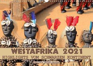 Westafrika, Highlights vom schwarzen Kontinent (Wandkalender 202