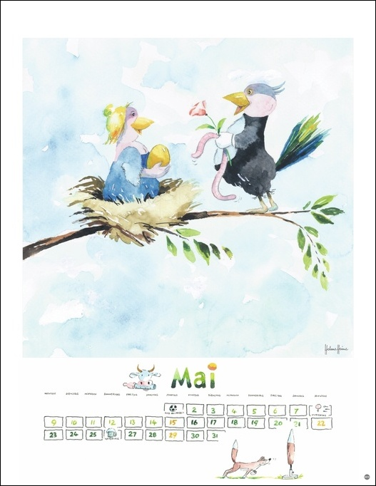 Helme Heine Edition Kalender 2022