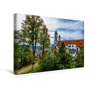 Premium Textil-Leinwand 45 cm x 30 cm quer Kalvarienbergkirche