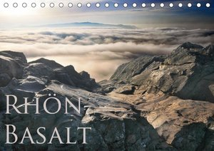 Rhön - Basalt (Tischkalender 2021 DIN A5 quer)