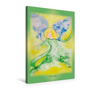 Premium Textil-Leinwand 50 cm x 75 cm hoch Ein Motiv aus dem Posterbuch ENGEL - Lichtboten für die Seele
