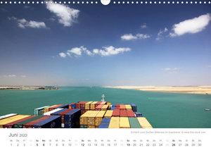 Faszination Schifffahrt - Meere und Hafenstädte (Wandkalender 2022 DIN A3 quer)