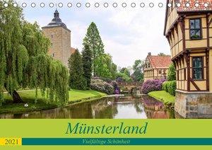 Münsterland - Vielfältige Schönheit (Tischkalender 2021 DIN A5 q