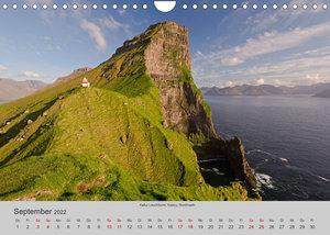 Färöer Inseln 2022 (Wandkalender 2022 DIN A4 quer)