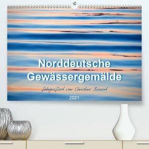 Norddeutsche Gewässergemälde (Premium, hochwertiger DIN A2 Wandk