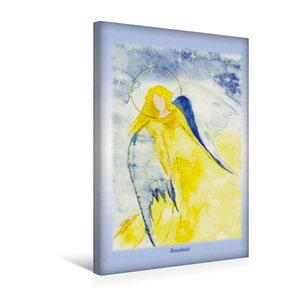 Premium Textil-Leinwand 30 cm x 45 cm hoch Ein Motiv aus dem Posterbuch ENGEL - Lichtboten f?r die Seele