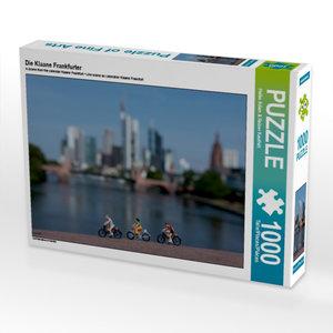 Die Klaane Frankfurter 1000 Teile Puzzle quer