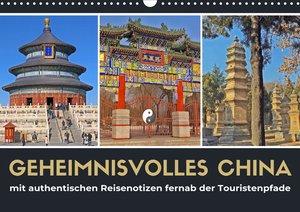 Geheimnisvolles China 2021 (Wandkalender 2021 DIN A3 quer)
