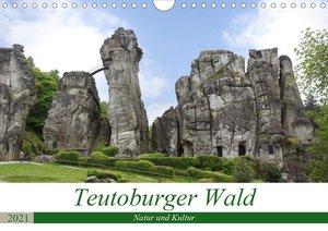 Teutoburger Wald - Natur und Kultur (Wandkalender 2021 DIN A4 qu