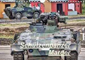 Schützenpanzer Marder (Wandkalender 2021 DIN A4 quer)