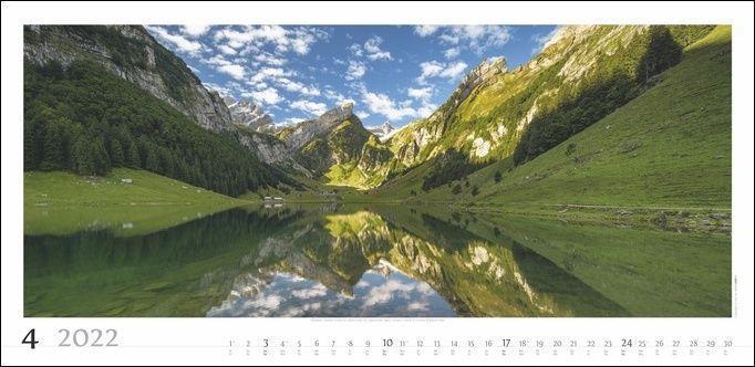 Alpenpanorama Kalender 2022