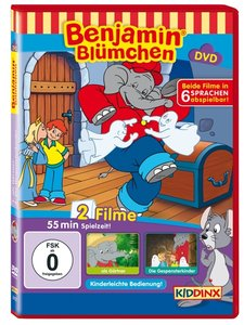 Benjamin Blümchen als Gärtner / Die Gespensterkinder, 1 DVD