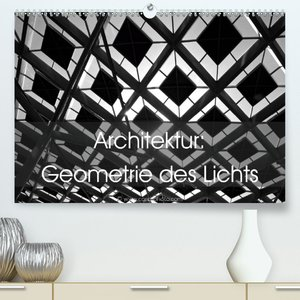 Architektur: Geometrie des Lichts (Premium, hochwertiger DIN A2