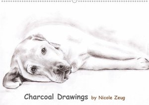 Charcoal Drawings (Wandkalender 2021 DIN A2 quer)