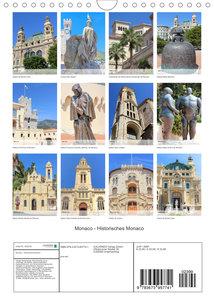 Monaco - Historisches Monaco (Wandkalender 2022 DIN A4 hoch)