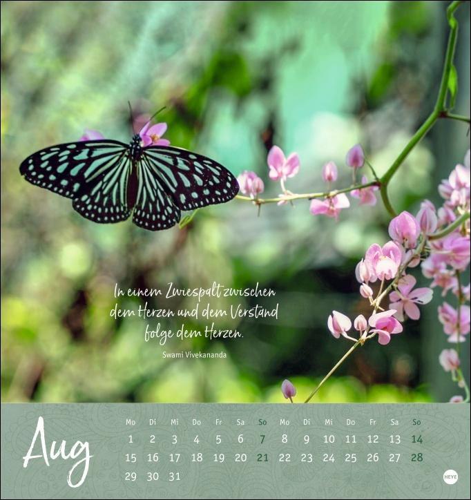Ich wünsch dir ... Achtsamkeit Postkartenkalender 2022