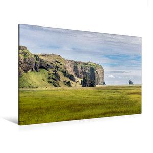 Premium Textil-Leinwand 120 cm x 80 cm quer Islands Süden
