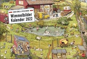 Göbel & Knorr Wimmelbilder Edition Kalender 2022