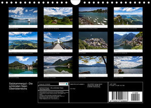 Salzkammergut - Die schönsten Seen Oberösterreichs (Wandkalender 2022 DIN A4 quer)