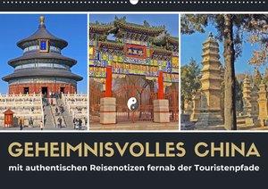 Geheimnisvolles China 2021 (Wandkalender 2021 DIN A2 quer)