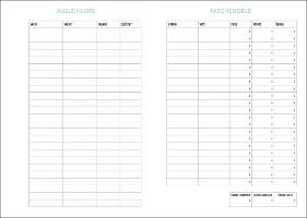 Tiger Schüler-/Studentenkalender A5  - 2022