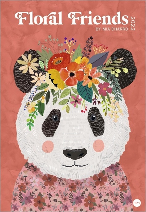 Floral Friends Posterkalender 2022